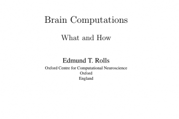 Brain Computations What and How