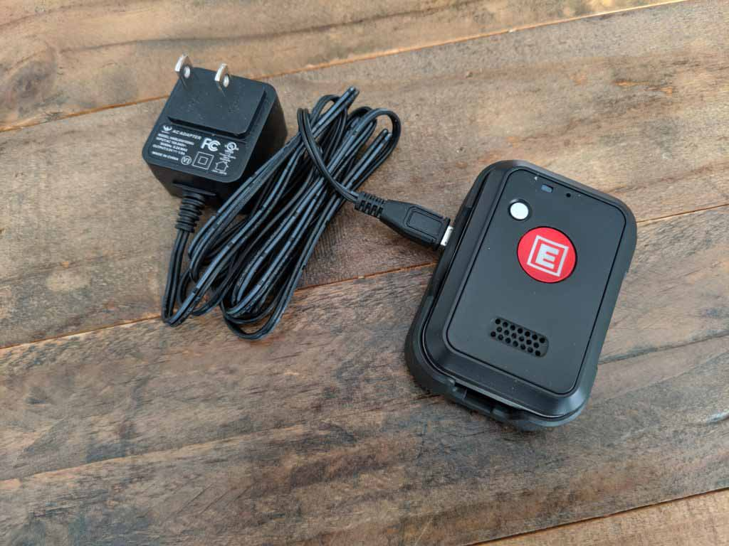fasthelp device with charger