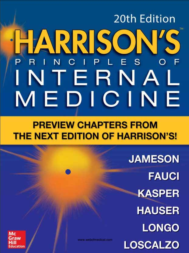 's Principles of Internal Medicine 20th edition PDF free