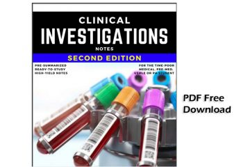 Clinical Investigation Medical Notes pdf free